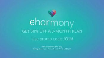 eHarmony TV Spot, 'All the Love: Authenticity' - Thumbnail 7