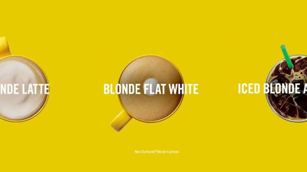 Starbucks Blonde Espresso Tv Commercial Now Serving Possibilities Video