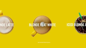 Starbucks Blonde Espresso TV Spot, \'Now Serving: Possibilities\'
