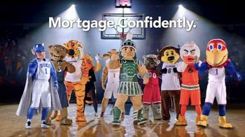 Quicken Loans Rocket Mortgage TV Spot, 'Mascots Are Confident: Basketball' - 185 commercial airings