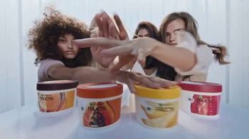 Garnier Fructis 1 Minute Hair Masks TV Spot, 'Super' Song by Mark Ronson