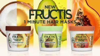 Garnier Fructis 1 Minute Hair Masks TV Spot, 'Super' Song by Bruno Mars - Thumbnail 9