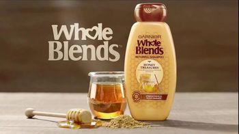Garnier Whole Blends Honey Treasures TV Spot, 'Heal Damaged Hair' - Thumbnail 3