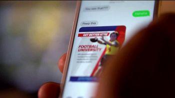 Football University TV Spot, 'Get Better Here' - Thumbnail 3
