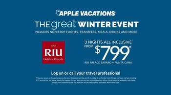 Apple Vacations Great Winter Event TV Spot, 'All-Inclusive' - Thumbnail 7