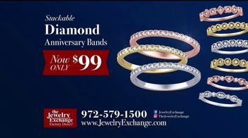 Jewelry Exchange TV Spot, 'Holiday Specials on Studs, Bands & Gems'