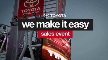 Toyota We Make It Easy Sales Event TV Spot, '2017 Prius' [T2] - Thumbnail 2