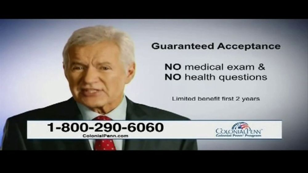 Colonial Penn TV Commercial, 'The Three Ps' Featuring Alex Trebek