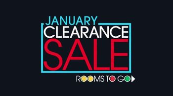 Rooms to Go January Clearance Sale TV Spot, 'Cindy Crawford Home' - Thumbnail 1
