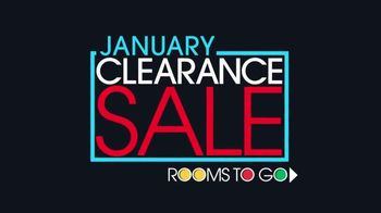 Rooms to Go January Clearance Sale TV Spot, 'Bedroom Set' - Thumbnail 1