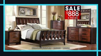 Rooms to Go January Clearance Sale TV Spot, 'Bedroom Set' - Thumbnail 3