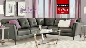 Rooms to Go January Clearance Sale TV Spot, 'Sofía Vergara Collection'