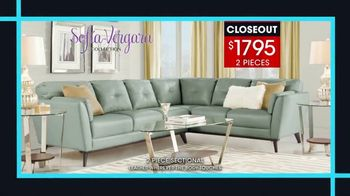 Rooms to Go January Clearance Sale TV Spot, 'Sofía Vergara Collection' - Thumbnail 4