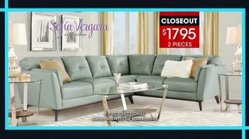 Rooms to Go January Clearance Sale TV Spot, 'Sofía Vergara Collection' - Thumbnail 5