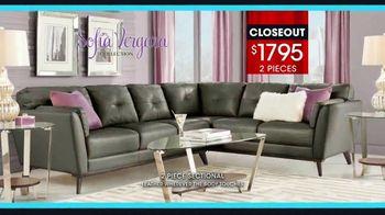 Rooms to Go January Clearance Sale TV Spot, 'Sofía Vergara Collection' - Thumbnail 6