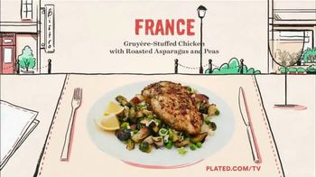 Plated TV Spot, 'Travel the World'