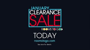 Rooms to Go January Clearance Sale TV Spot, 'Your Mission Is Clear' - Thumbnail 9