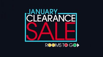 Rooms to Go January Clearance Sale TV Spot, 'Your Mission Is Clear' - Thumbnail 1