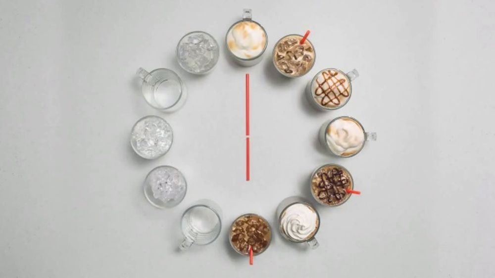 Dunkin' Deals TV Commercial, 'Latte O'Clock'