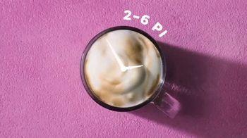 Dunkin' Deals TV Spot, 'Latte O'Clock' - Thumbnail 3