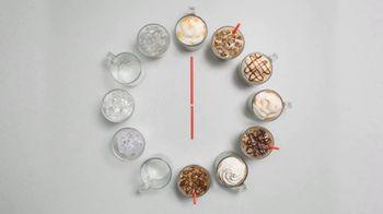 Dunkin' Deals TV Spot, 'Latte O'Clock' - Thumbnail 6