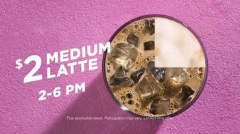 Dunkin' Deals TV Spot, 'Latte O'Clock' - Thumbnail 9