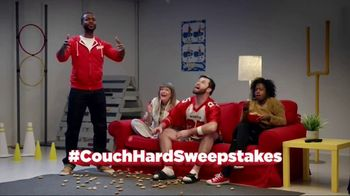 Totino's Game Day Couch Hard Sweepstakes TV Spot, 'Skills' - Thumbnail 8