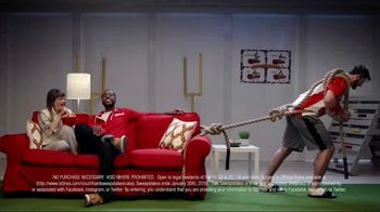 Totino's Game Day Couch Hard Sweepstakes TV Spot, 'Skills' - Thumbnail 3
