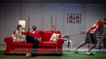 Totino's Game Day Couch Hard Sweepstakes TV Spot, 'Skills' - Thumbnail 4