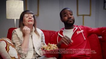 Totino's Game Day Couch Hard Sweepstakes TV Spot, 'Skills' - Thumbnail 6