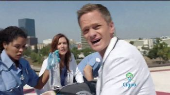 Cigna TV Spot, 'TV Doctors of America: Emergency' Featuring Kate Walsh - Thumbnail 2