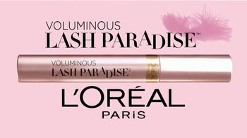 L'Oreal Paris Voluminous Lash Paradise Mascara TV Spot, 'Amazing' - Thumbnail 10