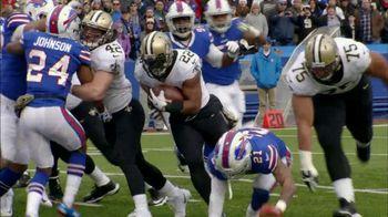 Papa John's TV Spot, 'NFL: Better Ingredients of the Week: Saints' - 1 commercial airings