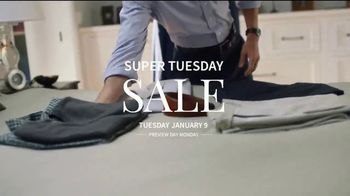 JoS. A. Bank Super Tuesday Sale TV Spot, 'Clearance' - Thumbnail 1