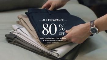 JoS. A. Bank Super Tuesday Sale TV Spot, 'Clearance' - Thumbnail 3