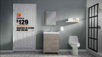 The Home Depot TV Spot, 'Make a Big Change to Your Bathroom' - Thumbnail 10