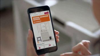 The Home Depot TV Spot, 'Make a Big Change to Your Bathroom'