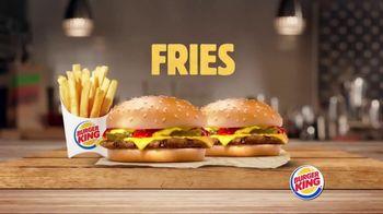 Burger King King Savings Menu TV Spot, 'Cheeseburgers and Chicken Nuggets'