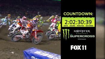 2018 Monster Energy Supercross TV Spot, 'FOX 11: Angel Stadium of Anaheim'