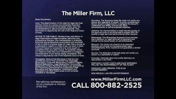 Miller Firm TV Spot, 'Amputations' - Thumbnail 9