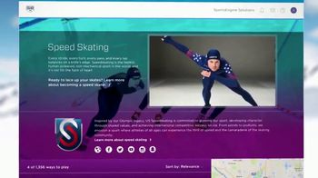 SportsEngine TV Spot, 'Winter Olympics: Speedskating'