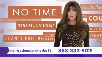 Nutrisystem Turbo 13 TV Spot, 'Reasons' Featuring Marie Osmond - 208 commercial airings