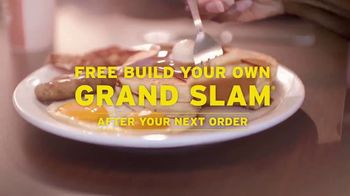 Denny's On Demand TV Spot, 'Free Build Your Own Grand Slam' - Thumbnail 6