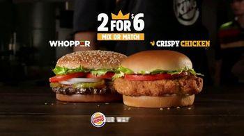 Burger King 2 for $6 Mix or Match TV Spot, 'Too Legit' - Thumbnail 10