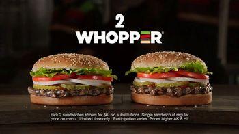 Burger King 2 for $6 Mix or Match TV Spot, 'Too Legit' - Thumbnail 7