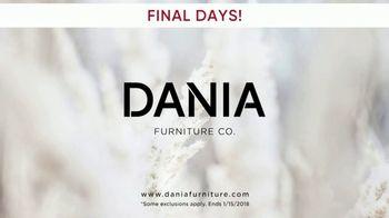 Dania Winter Clearance Sale TV Spot, 'Final Days' - Thumbnail 7
