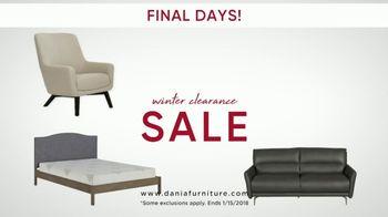 Dania Winter Clearance Sale TV Spot, 'Final Days' - Thumbnail 2
