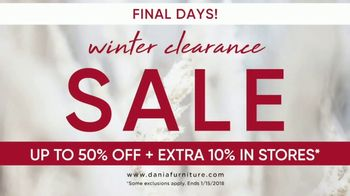 Dania Winter Clearance Sale TV Spot, 'Final Days' - Thumbnail 6