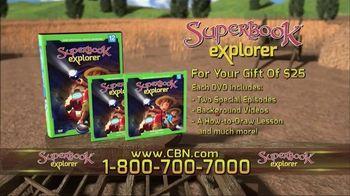 Superbook Explorer Volume 12 TV Spot, 'Ruth & John the Baptist' - Thumbnail 3
