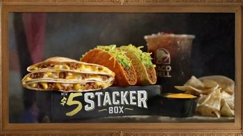Taco Bell $5 Stacker Box TV Spot, 'Masterpiece' - Thumbnail 5